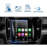 2019 Volvo XC40 8.7 Inch Sensus Navigation System Center Touch Screen Protector, LFOTPP Tempered Glass In-Dash Clear Screen Protector