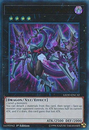 Amazon.com: YuGiOh 1er Dragón de Ed oscuro Rebellion XYZ ...