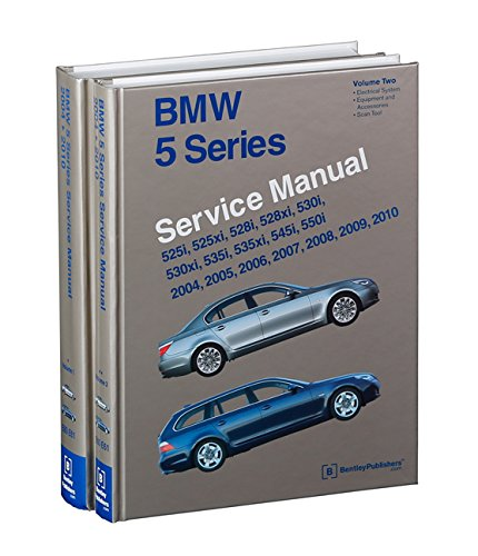 BMW 5 Series Service Manual 2004,2005,2006,2007,2008,2009,2010 E60, E61: Amazon.es: Bentley Publishers: Libros en idiomas extranjeros