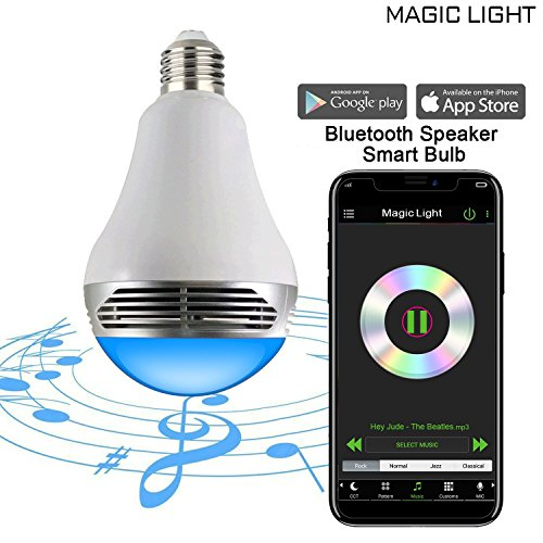 MagicLight Bluetooth Speaker Bulb Multicolored product image