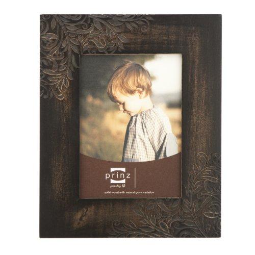 PRINZ Perry Vine Espresso Laser Carved Frame, 8
