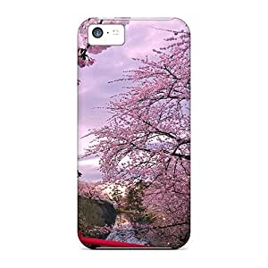 Bernardrmop BrsoQbj7081NptRo Case For Iphone 5c With Nice Cherry Blossoms Appearance