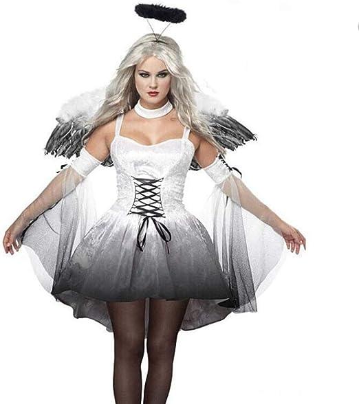 XIONGDA Disfraz de Cosplay de Halloween para Mujer Vestido de ...
