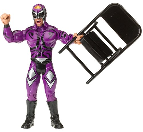 estling Action Figure Rey Mysterio [Purple Outfit & Mask] (Rey Mysterio Wrestling Mask)