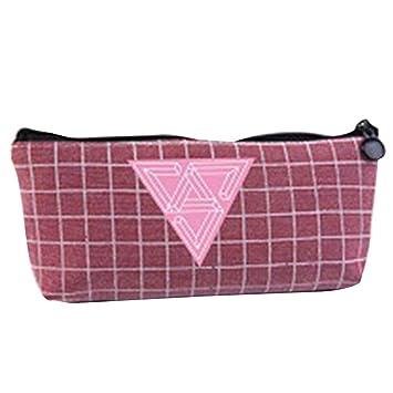 Amazon.com  Youyouchard Kpop BTS Bangtan Boys Canvas Pencil Case Stationery  Bag BLACKPINK EXO GOT7 TWICE WANNA ONE Pencil Box Coin Bag Cosmetic ... ef405f10008f
