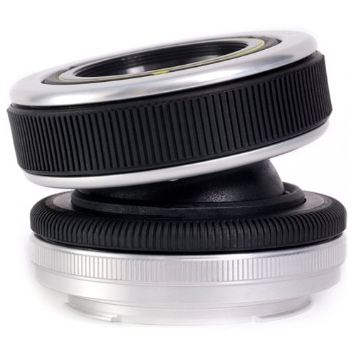 Lensbaby Composer Lens with Double Glass Optic (for Sony Alpha Cameras) with Lensbaby Optic Swap Kit + UV/FLD/CPL/Macro Filters + Wide & Telephoto Lens Set