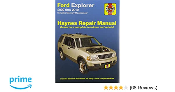 ford explorer - haynes repair manual .pdf download