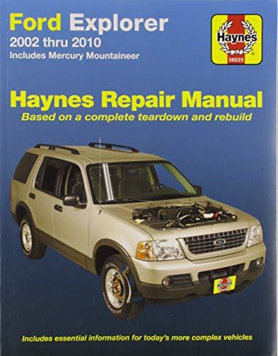 Ford Explorer & Mercury Mountaineer Haynes Repair Manual ()
