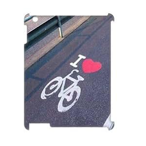 LSQDIY(R) bike iPad2,3,4 Custom 3D Case, High-quality iPad2,3,4 3D Case bike