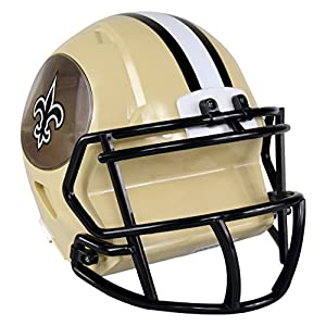 NFL New Orleans Saints Abs Helmet Bank, Black, One Size