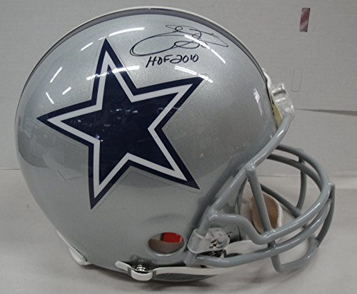 Emmitt Smith Hand Signed - Emmitt Smith Hand Signed Full Size Authentic Helmet Dallas Cowboys JSA WP153087