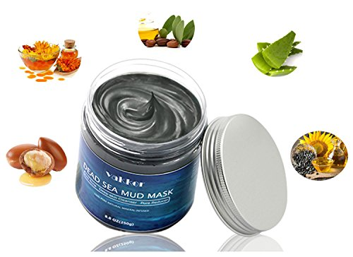 Dead Sea Mud Face Body Mask - Natural Mineral Pore Minimizing, Acne Blackhead Treatment, Anti Aging