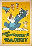 CUT 110 1975 ARGENTINEAN LB MOVIE POSTER - TOM AND JERRY - CLASSIC CARTOON ART