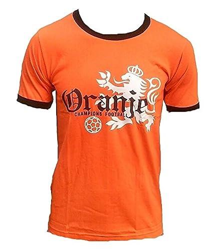 Ticila Men T-Shirt Orange Oranje Netherlands Holland Dutch Football  Champions WM EM Soccer Fan 890254acd