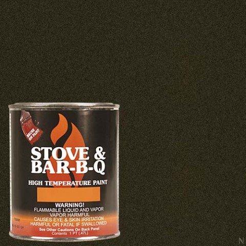Stove Bright TI-8146 High Temperature Brush On Paint, 1200 Degree F Operating Temperature Range, 12 oz Aerosol, Goldenfire Brown by SANDHILL