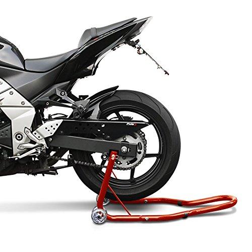 FZR 1000 B/équille moto arriere ConStands Classic Universal rouge pour Yamaha Fazer 8 FZR 600// R TT 600 S TRX 850 WR 125 R// X FZ8 TDM 850// 900 FZ 750 MT-03 FZ8 Fazer SZR 660 MT-01 TZR 50 TT 600 R//RE FZ6// Fazer// S2 FJ 1200 FZ1// Fazer