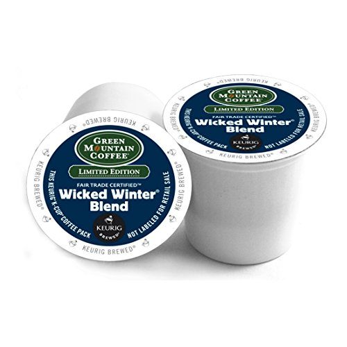 Green Mountain Coffee Wicked Winter Blend Keurig 2.0 K-Cup Mob, 72 Count