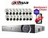 Dahua 32 Channel 3MP Package: NVR4432 W/3TB 16POE and 16 x HDW1320S 3MP Indoor/Outdoor Camera