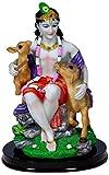 Attractive Govinda Krishna with Animals Statue
