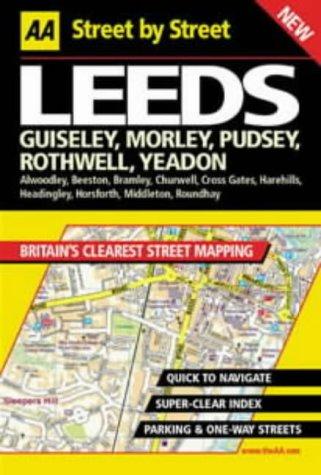 AA Street by Street: Leeds, Guiseley, Morley, Pudsey, Rothwell, Yeadon pdf