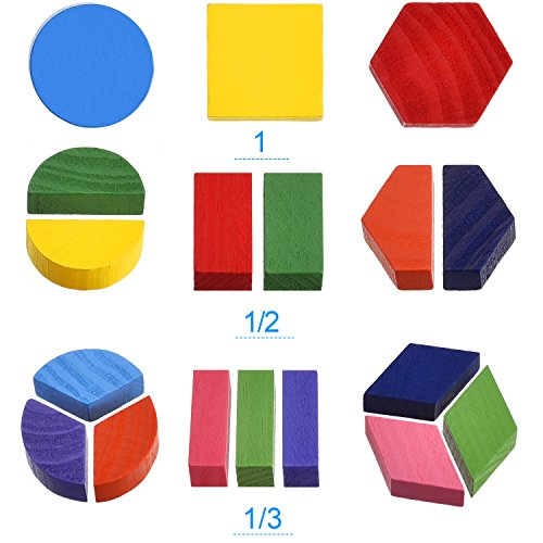 60%OFF Skylety 2 Sets of Shapes Wooden Chunky Puzzle Kindergarten