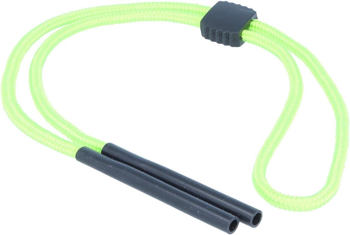 Brillenband mit Grip-Stopper und Tube-Endst/ück mit 5mm /Öffnung in schwarz