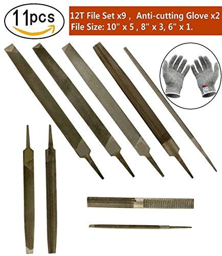 11 Piece General Purpose Hand File Set | 10