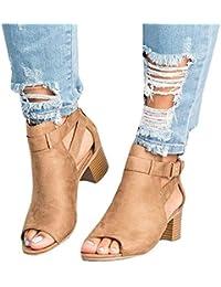 bda3e8dccc1f9e Women s Cut Out Espadrille Platform Wedge Sandals Ankle Strap Peep Toe  Suede Shoes