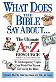 What Does the Bible Say About..., Thomas Nelson Publishing Staff and Ken Anderson, 0785245928