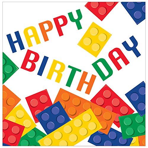 Creative Converting 16 Count Napkins Birthday