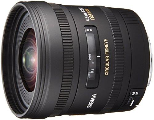 Sigma 4.5mm f/2.8 EX DC HSM Circular Fisheye Lens for Can...