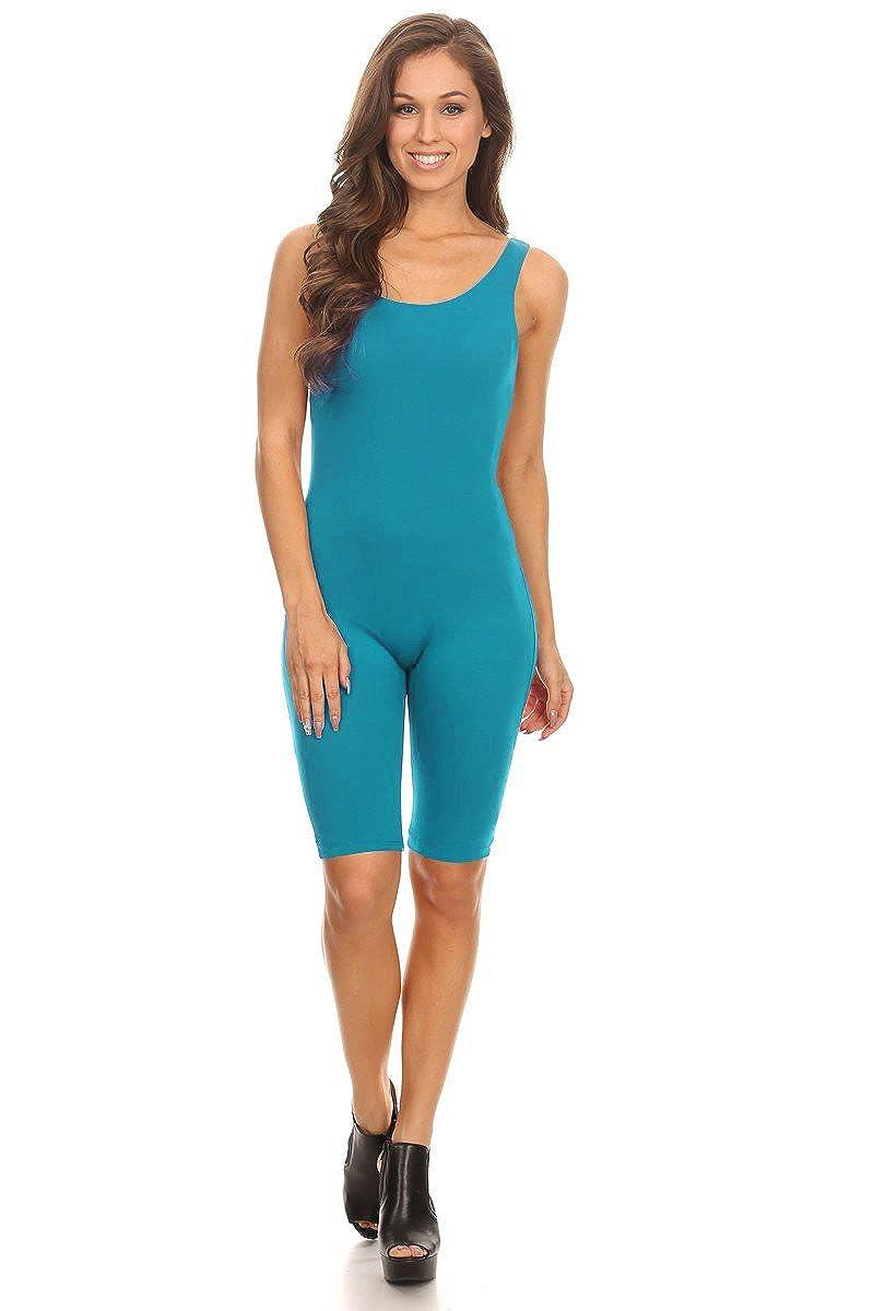 Stretch Cotton Large Bodysuit レディース ノースリーブ ストレッチコットン スキニー 無地 Plus) 膝丈 Bodysuit スポーツアクティブ 全身タイツボディスーツ(& Plus) B01IMK49WE Large|ジェイド ジェイド Large, Echo:1c28014e --- wap.bellavitta4.dominiotemporario.com
