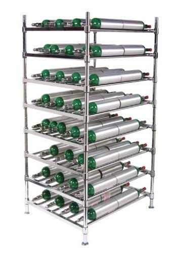 Stack & Rack Oxygen Storage System Rack for 112 M6 size cylinders