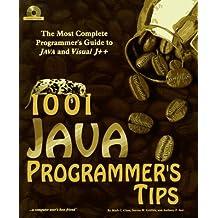 1001 Java Programmer's Tips