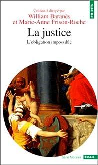 La Justice par William Baranès