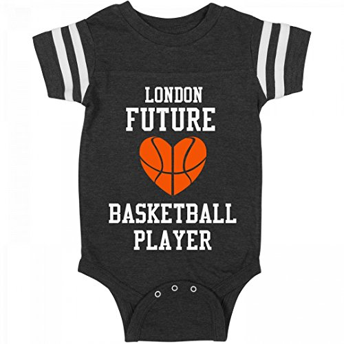 fan products of Future Basketball Player London: Infant Rabbit Skins Football Bodysuit
