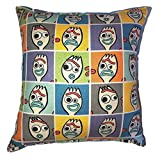 Forky Pillow Toy Story 4 Pillow All Our Pillows Are Handmade Hypoallergenic Cotton with Flannel Backing Ideal for Gift and Multiple Uses
