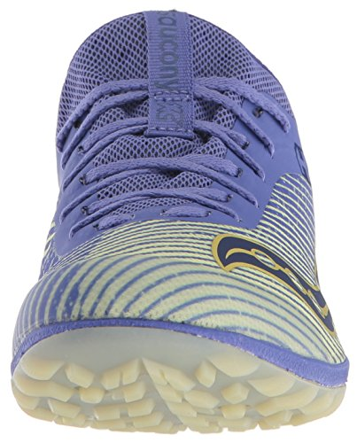 Saucony Women's Havok XC2 Flat Cross Country Running Shoe, Purple/Yellow, 5 M US by Saucony (Image #4)