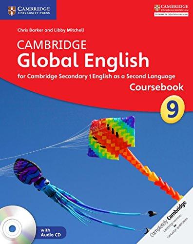 Cambridge Global English Stage 9 Coursebook + Audio Cd