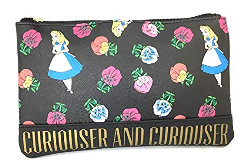 Loungefly Disney Alice In Wonderland Faux Leather Coin Bag Wallet WDCB0425]()