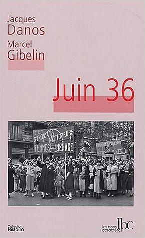 Livres gratuits Juin 36 epub, pdf