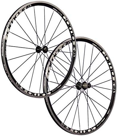 Vuelta Juego Ruedas Bicicleta Carreras 28 Pulgadas Pro Lite 20 24 710 Negro: Amazon.es: Deportes y aire libre