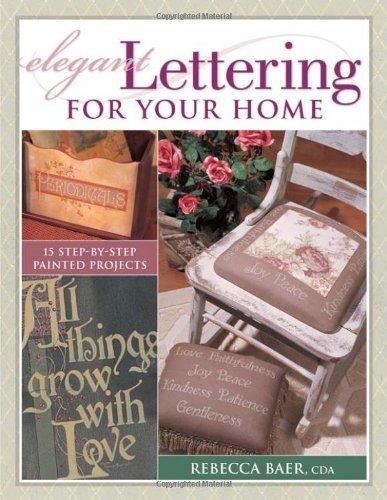 Elegant Lettering for Your Home pdf epub