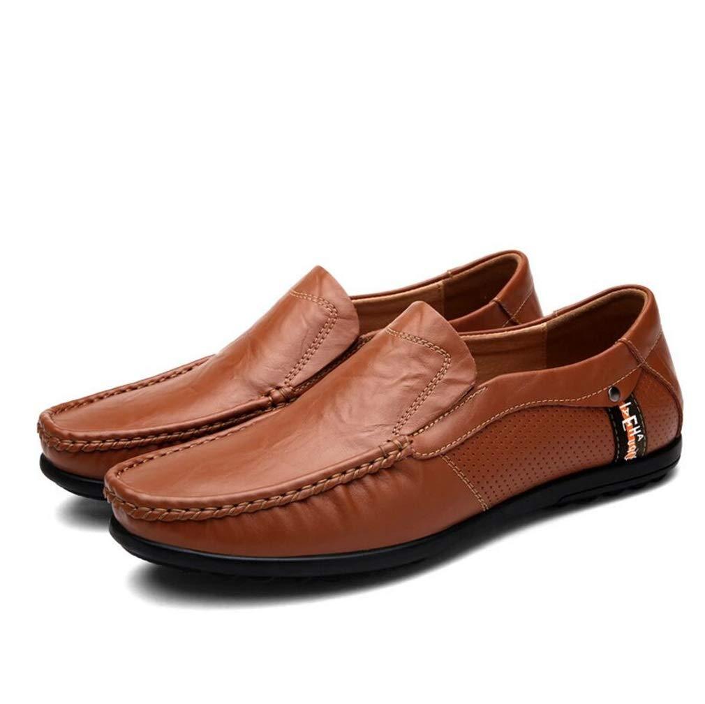 YAN Herrenschuhe Leder Frühling & Herbst Mode Kleid Loafers Schuhe Geschäft Wohnung Fahr Schuhe für Männer Casual/Daily Walking Schuhes/Driving