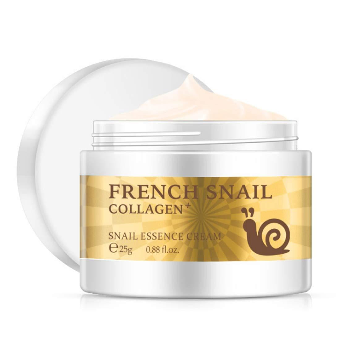 Loweryeah Snail Repair Anti-aging Cream 25g Collagen Moisturizing Nourish Repair Damaged Face Care Hyaluronic Acid Cream by Loweryeah (Image #1)