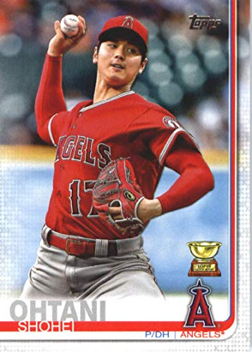 Angels Baseball Memorabilia - 2019 Topps #600 Shohei Ohtani Los Angeles Angels MLB Baseball Trading Card