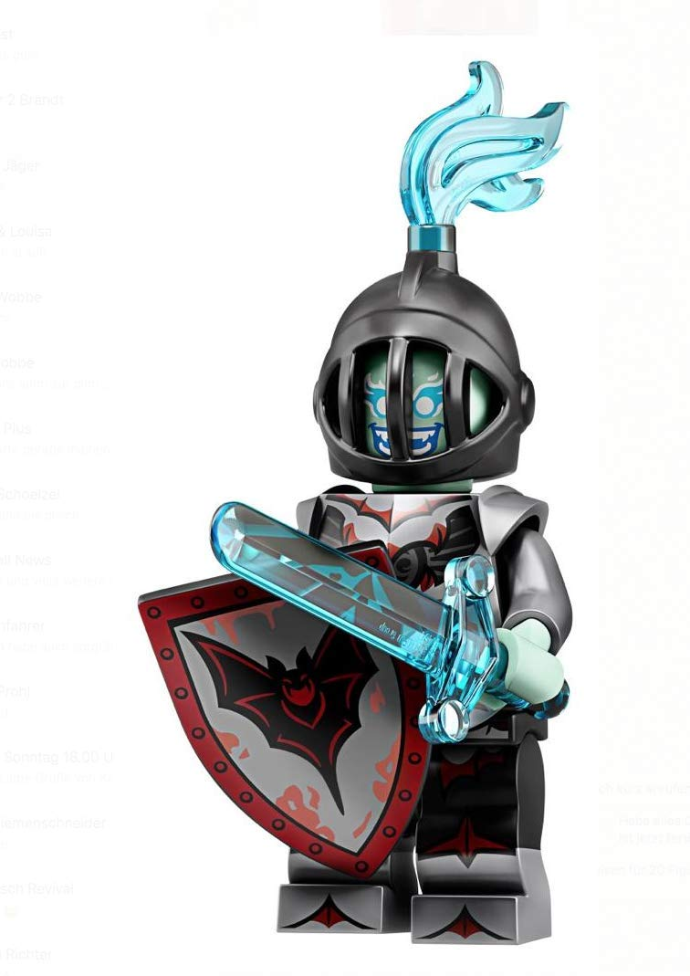 LEGO Minifigures Series 19: Spooky Fright Knight Minifigure 71025