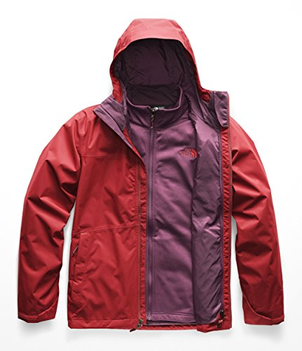 The North Face Men's Arrowood Triclimate Jacket Rage Red/Fig ()