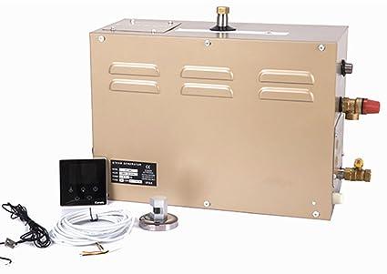 6kw Commercial Lcd Digital Steam Generator Shower Sauna Bath Home