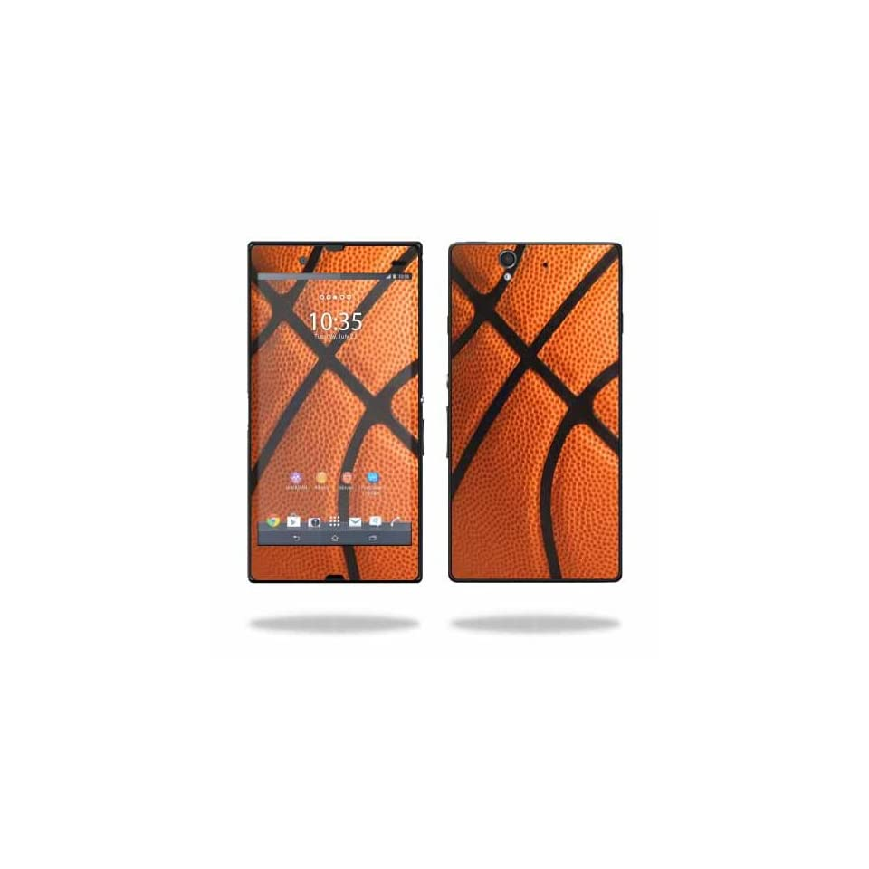 MightySkins Protective Vinyl Skin Decal Cover for Sony Xperia Z 4G LTE T Mobile Sticker Skins Basketball Cell Phones & Accessories